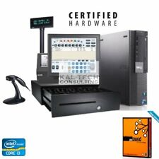 Dell Pos Touchscreen Retail Point Of Sale System Pos System I34gb Ram