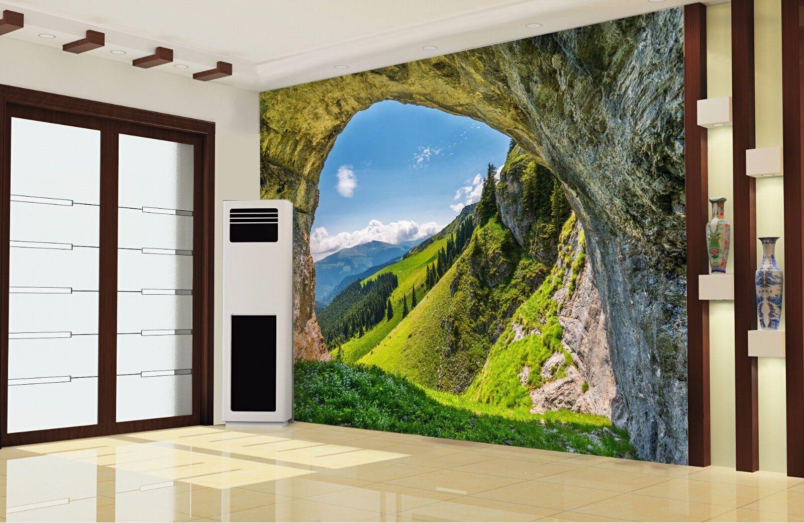 3d Cave Sky 74 Wall Paper Murals Wall Print Wall Wallpaper