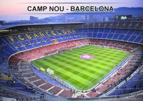 Spanien Stadionpostkarte Camp Nou Barcelona