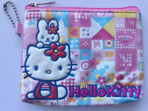 Girl Children Kids School Hello Kitty Zip Coin Card small Wallet case bag Purse