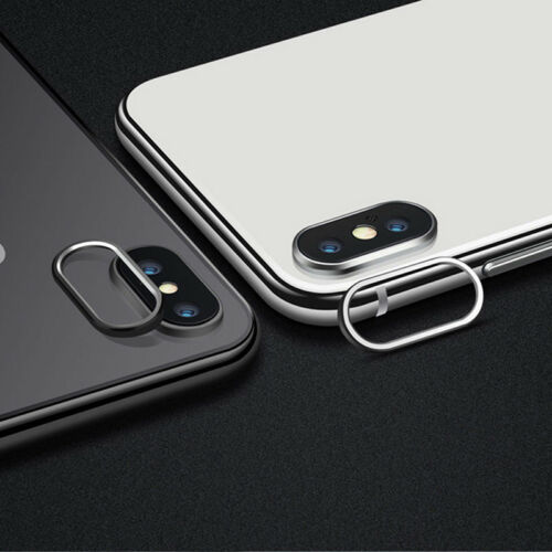 For   iPhone X Rear Back Camera Protector Protective Lens Case Ring Cover FO