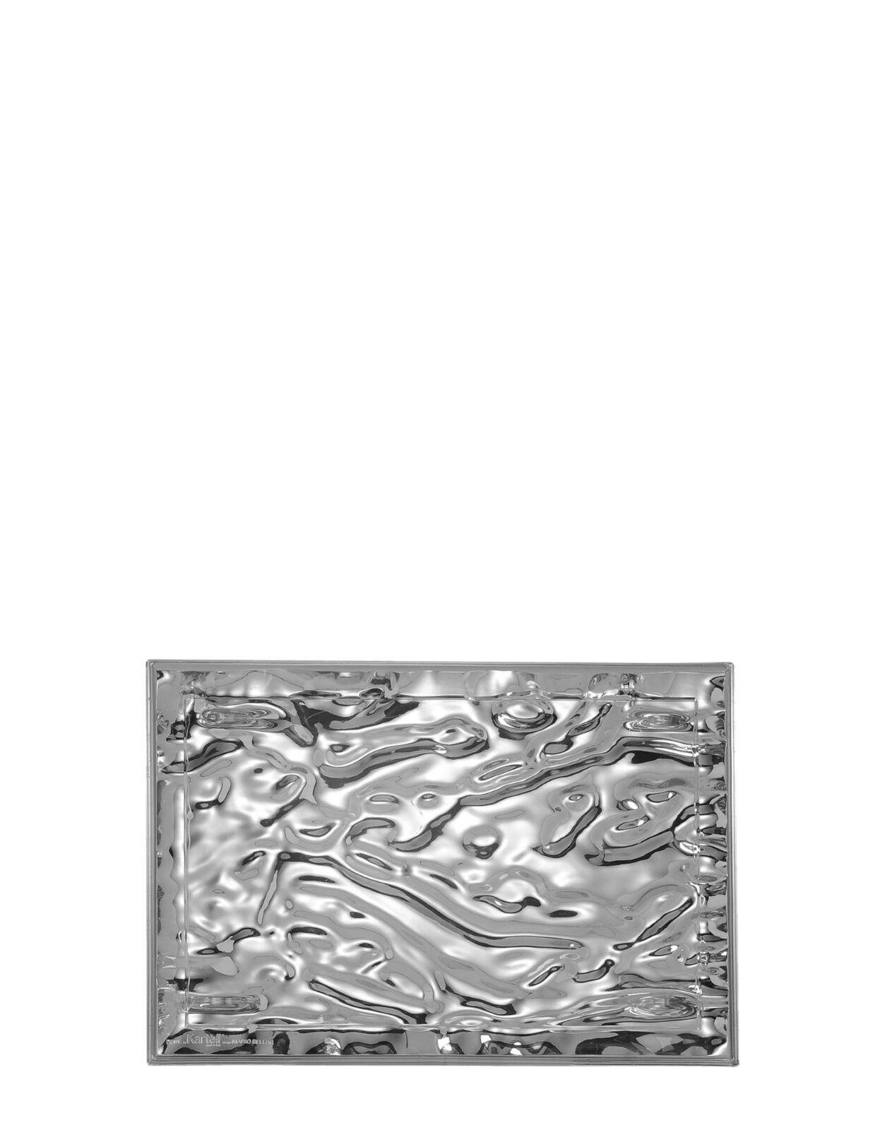 Kartell - Dune - Vassoio cm 46x32 Cromato - Rivenditore autorizzato