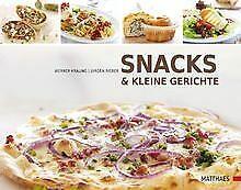 Snacks und kleine Gerichte von Kräling, Werner, Rie... | Buch | Zustand sehr gut