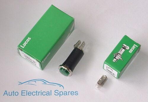 lucas SPB355 CLASSIC MOTORCYCLE lamp green CAR 6v warning light
