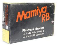 In Box Mamiya Rb C330 Camera Flashgun Bracket Model Ii Pistol Grip Flash H