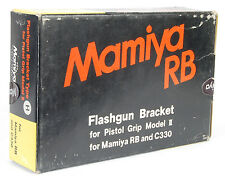 NEW IN BOX MAMIYA RB C330 CAMERA FLASHGUN BRACKET MODEL II PISTOL GRIP! FLASH H