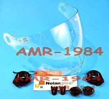VISIERA ORIGINALE NOLAN N43 CLEAR + SET VITI VISIERA + MOVIMENTO N43E AIR  N43E