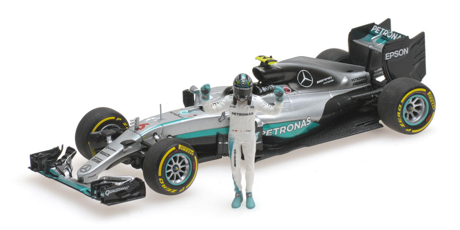 410160806 - - - Minichamps Mercedes f1-w07 Hybride  6 N. Rosberg - 2016 - 1 43 e739a9