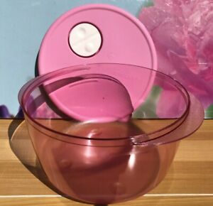 New Tupperware Medium Rock N Serve Microwaveable Container 2L PINK Color