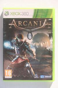 ARCANIA Gothic 4 Xbox 360 Pal dans like new and complete condition-  afficher le titre dorigine - France - État : Comme neuf: Objet semblant avoir été retiré de son film plastique récemment. Aucune marque d'usure apparente. Toutes les faces de l'objet sont impeccables et intactes. Consulter l'annonce du vendeur pour avoir plus de détails et voir - France