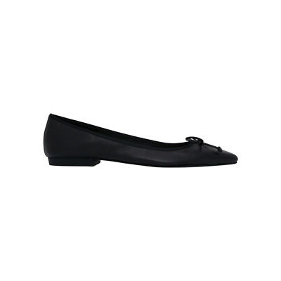 NEW Basque Margot Black Leather Pump