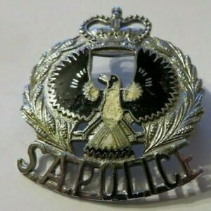 Original SOUTH AUSTRALIA  HAT BADGE  AUSTRALIEN Polizei Abzeichen S.A. Police