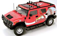 1:18 Highway 61 St. Louis Cardinals HUMMER H2 Die Cast Promotions Hard To Find