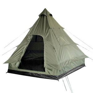 Image is loading Pyramid-Tent-Tipi-Indian-Style-C&ing-Festivals-Hiking-  sc 1 st  eBay & Pyramid Tent Tipi Indian Style Camping Festivals Hiking Outdoor 4 ...