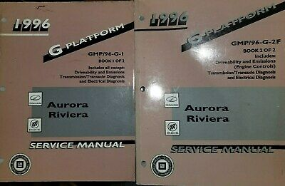 1996 OLDSMOBILE AURORA BUICK RIVIERA Service Manual CD