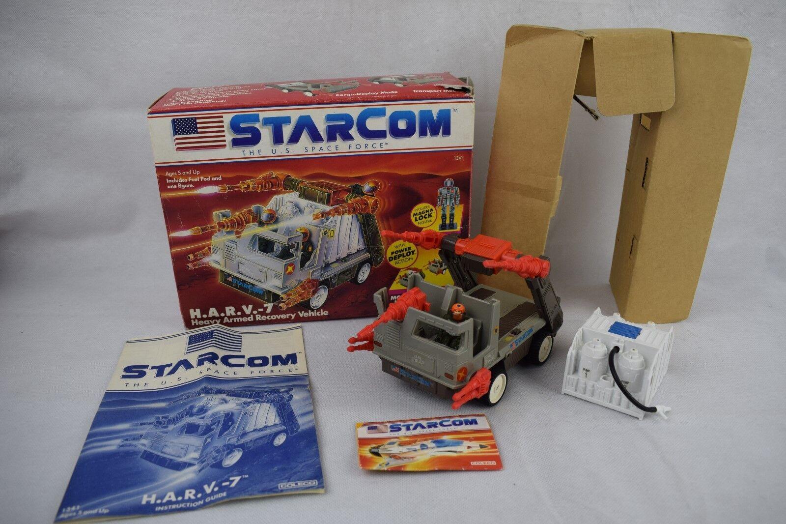 In In In scatola Estrellacom h.a.r.v. 7. HARVY, colleco, 1980 S, vintage giocattolo, spazio, f63fee