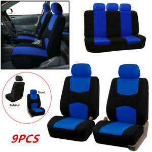 Image Is Loading Universal 9pcs Full Set Car Seat Cover Pad