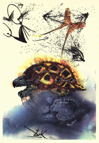 SALVADOR DALI Alice In Wonderland Canvas Print The Mock Turtle's Story