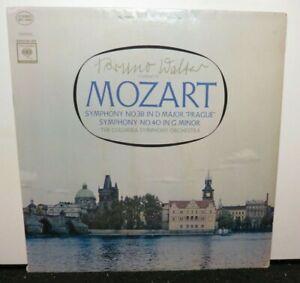 BRUNO WALTER MOZART SYMPHONY NO. 38 NO. 40 (VG+) MS-6494 LP VINYL RECORD