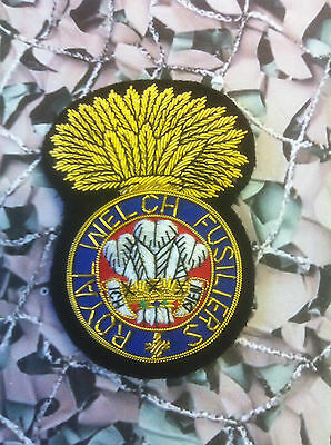 Royal Welch Fusiliers Blazer Badge (Bullion)