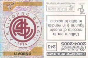 CALCIATORI-PANINI-2004-05-Figurina-sticker-N-243-NEW