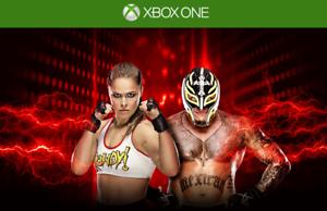 Appris Wwe 2k19 Dlc Code Clé Ronda Rousey & Rey Mysterio (xbox One) Région Usa/can/mex-afficher Le Titre D'origine