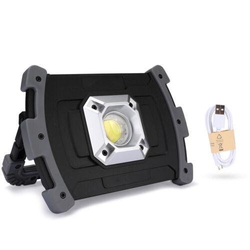Multifunction 70000 Lumen COB LED Slim Work Light Lamp Flashlight Rechargeable