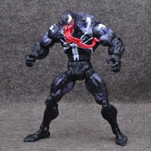 "US Marvel Univers Spider-Man Venom PVC Action Figure Collectible 6/"" Model Toy"