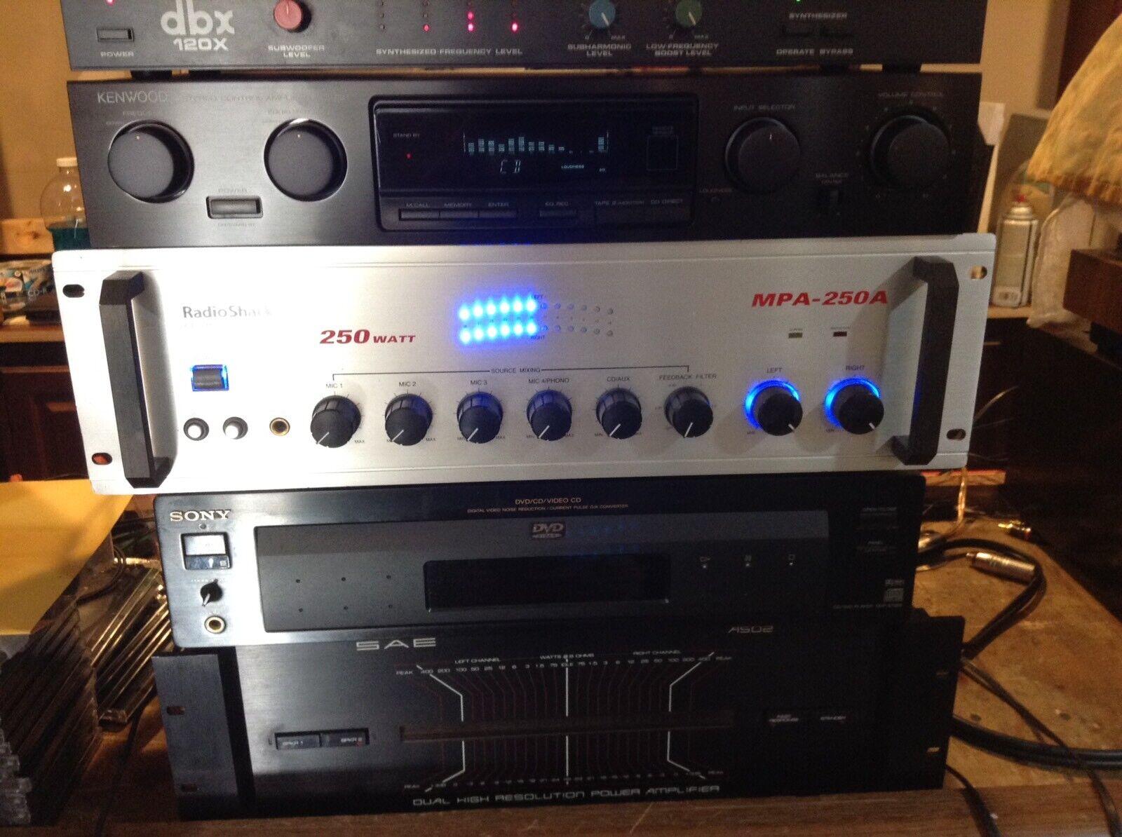 Radio Shack MPA-250A P.A. Verstärker.