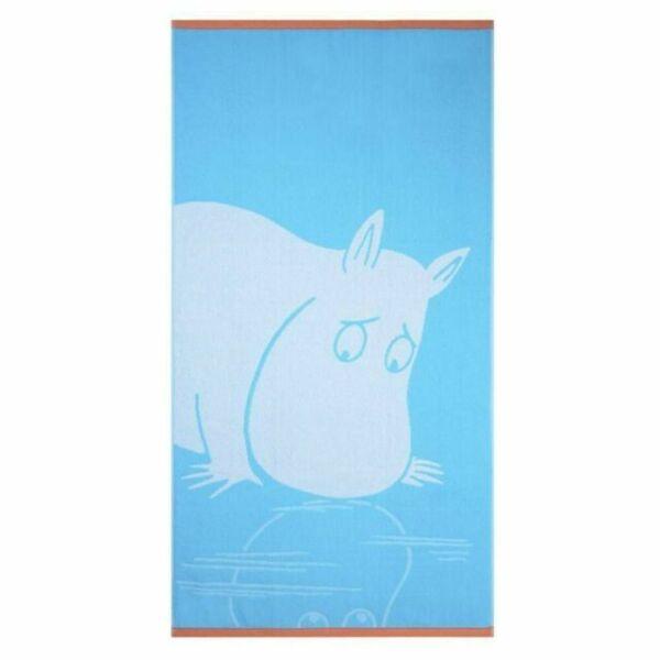 Moomin Bath Towel Moominpappa Dark Blue 70 x 140 cm Finlayson