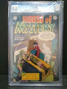 House-of-Mystery-2-DC-Comics-Feb-1952-2-5-CGC-pre-code