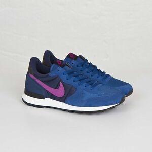 Nike Wmns Internationalist 629684-405 Dark Royal Blue Women Size US 5 NEW
