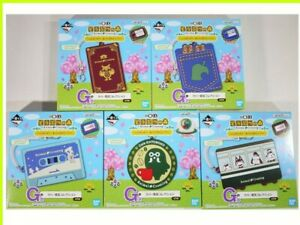 Animal Crossing Rubber Collection Complete Set Ichban kuji 2019 Official BANDAI