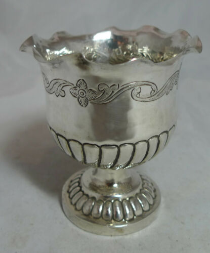 Antique Silver Cup 104g 9.5cm x 5.5cm A70017