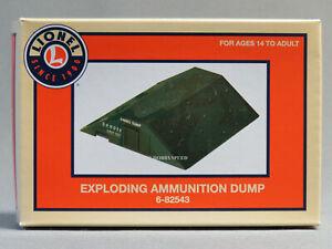 Lionel-6-82543-943-Exploding-Ammunition-Dump-Factory-New-in-Box-C-10-gn