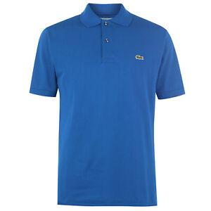 LACOSTE-MEN-039-S-CLASSIC-FIT-L-12-12-POLO-T-SHIRT-TOP-BLUE