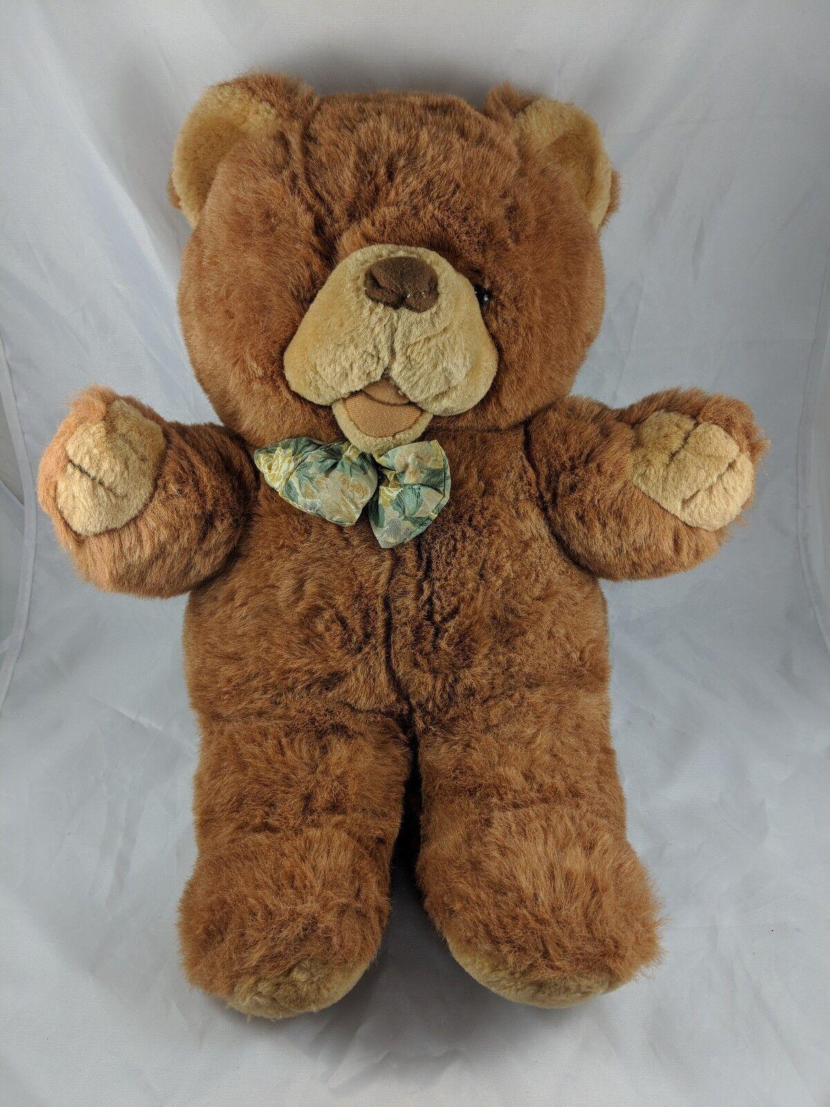 Cuddle Wit Braun Vintage Bear Plush 19