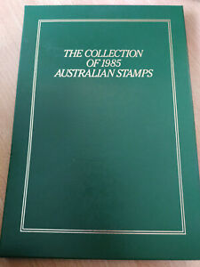 The collection of 1985 Australian Stamps Album and slip case