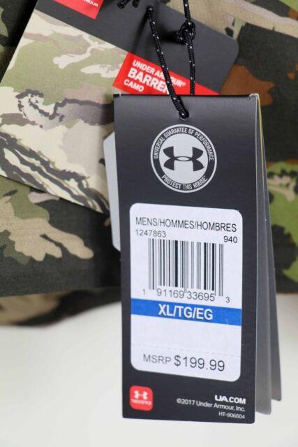 a1cfd1c90d Under Armour Ridge Reaper Barren Camo Hunting Jacket XL 1247863 940