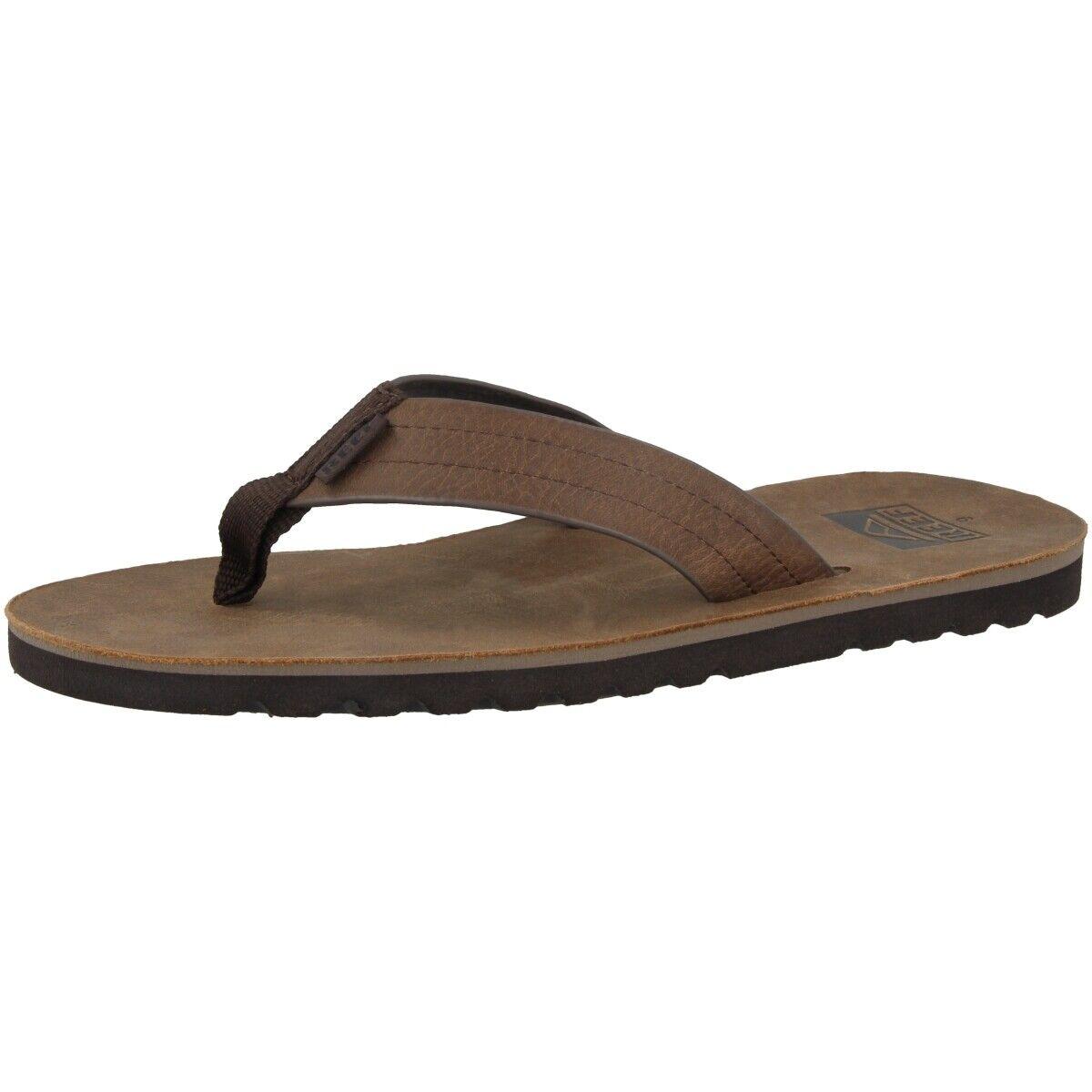 Reef  Voyage le Push -Toe Sandals Pool scarpe Slipers Marronee RF0A2YFRDAB  forma unica