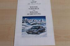147846) Jaguar XJ 6 - Winter-Zubehör - Prospekt 198?
