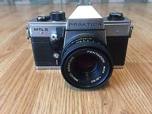 Praktica mtl film camera with pentacon auto multi coating