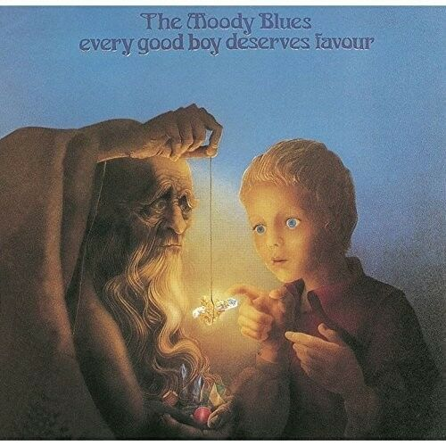 The Moody Blues - Every Good Boy Deserves Favour [New CD] Japanese Mini-Lp Sleev