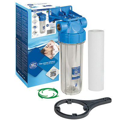 """10"""" Water / Biodiesel Filter Housing 3/4""""BSP Cartridge + Bacinix Ring"""
