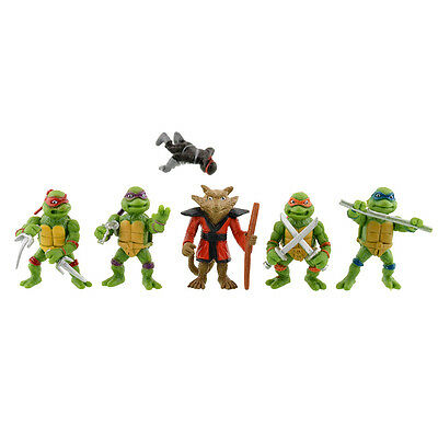 New Quality 6Pcs Teenage Mutant Ninja Turtles Figures Toy Classic Collection