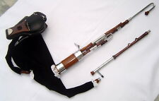 Geoffrey | Irish Half set Uilleann Pipes | bagpipe | 2 reed set, Carry bag | UR6