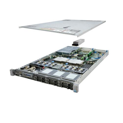 DELL PowerEdge R610 Server 2x 2.66Ghz X5650 6C 48GB 2x 146GB 10K SAS Enterprise