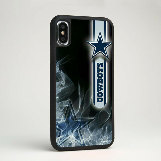 finest selection 6aa1a d4ae0 NFL Dallas Cowboys American Football Silicone Case Cover for iPhone Samsung