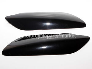 Motorcycle Black Headlight Lens Cover Shield For Yamaha YZF R1 2004-2006 2005
