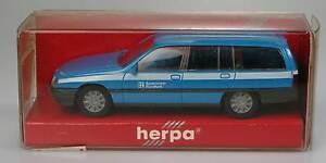 Herpa-Opel-Omega-Caravan-Baviera-radiodifusion-1-87-4129-OVP-nuevo